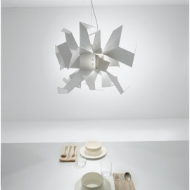 Glow Pendant lamp Pallucco white color
