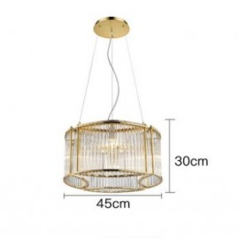 Stilio Ring pendant lamp Licht im Raum gold color Diam 45cm with detail