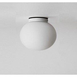 Glo Ball Mini wall/ceiling lamp Flos white color side view