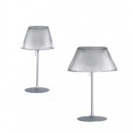 Romeo Moon table lamp Flos transparent color Romeo Moon S1 / S2 front view