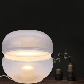 Macaron LED table lampBrokis transparent color front view