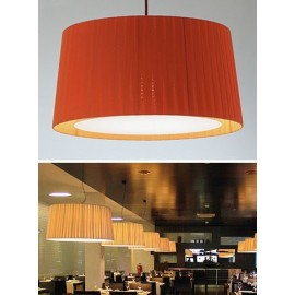 GT5 pendant lamp Santa & Cole red color with detail