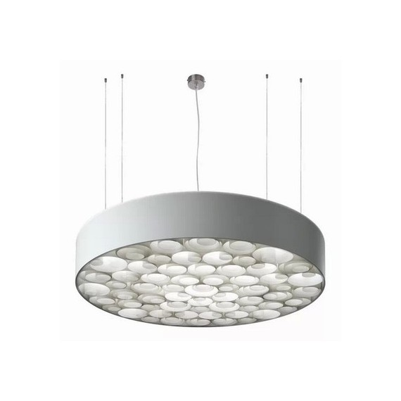 Spiro LED pendant lamp White LZF front view