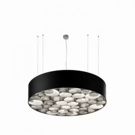 Spiro LED pendant lamp Black