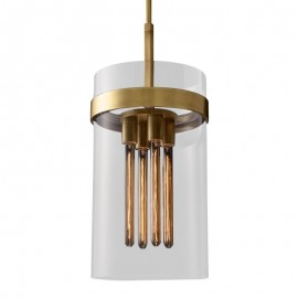 RH RAVELLE PENDANT LAMP Restoration Hardware brass color 1