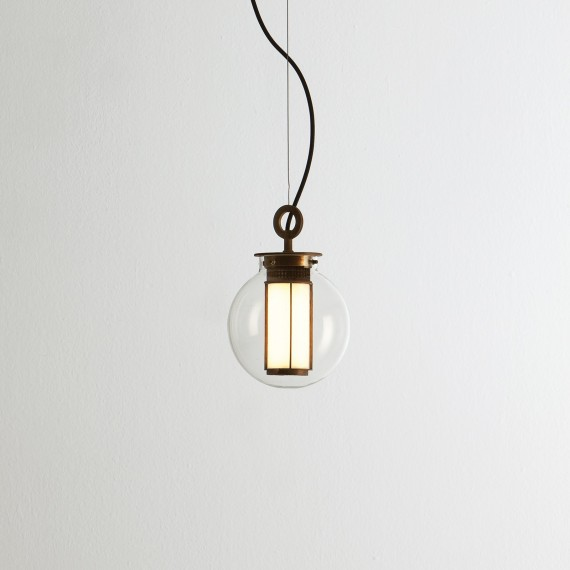 BAI DI DI LED Pendant lamp Parachilna transparent color front view
