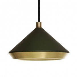 Shear PENDANT LAMP Bert Frank black color front view