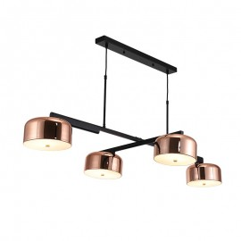 Lalu plus PENDANT LAMP Seed Design black+copper color front view