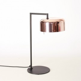 Lalu Plus Table LAMP Seed Design black+copper color side view