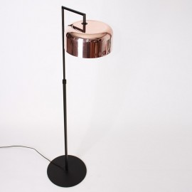 Lalu Plus floor LAMP Seed Design black+copper color top view