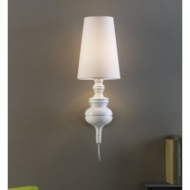 Joséphine Mini A wall lamp Metalarte white color