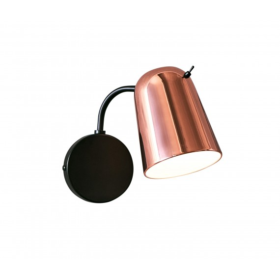 Dobi Wall Lamp Seed Design copper color front view