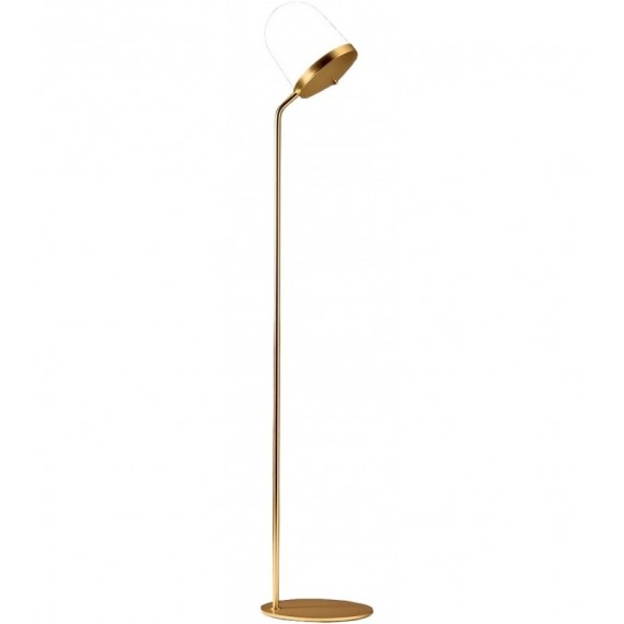 Lula Floor Lamp Penta white color front view