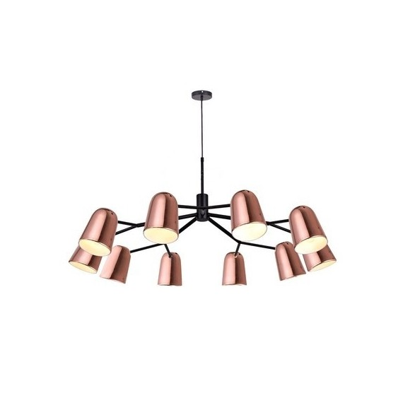 Dobi P10 Pendant Lamp Seed Design copper color front view