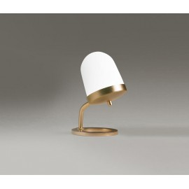 Lula Table Lamp Large Penta brass color front view