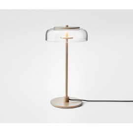 Blossi LED Table Lamp Nuura transparent color back view
