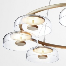 Nuura Blossi 6 Pendant Lamp transparent color with detail