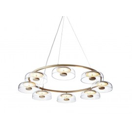 Blossi LED 8 Pendant Lamp Nuura transparent color with detail