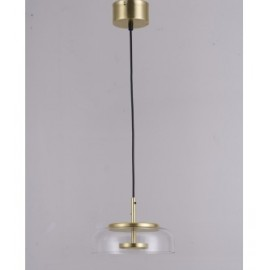 Nuura Blossi 1 Pendant Lamp transparent color side view