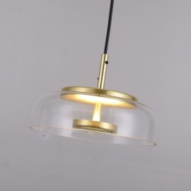 Nuura Blossi 1 Pendant Lamp transparent color with detail