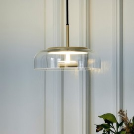 Nuura Blossi 1 Pendant Lamp transparent color in dining room