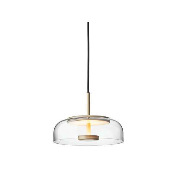 Nuura Blossi 1 Pendant Lamp transparent color front view