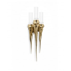 Wax Wall Lamp Luxxu brass color