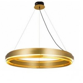 Empire LED Pendant Lamp model A JSPR gold color front view