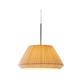 bover mei 38 pendant lamp Foscarini cream color front view
