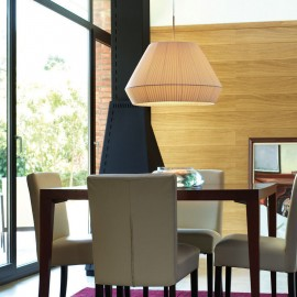 bover mei 38 pendant lamp Foscarini cream color with detail