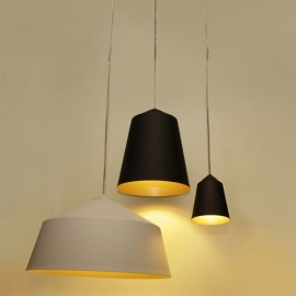 Circus pendant lamp Innermost black color / white color S / M / L side view