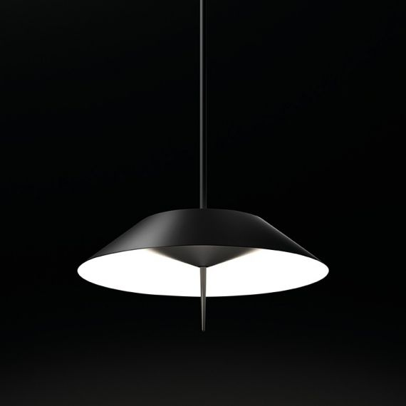Mayfair LED Pendant Lamp Vibia black color