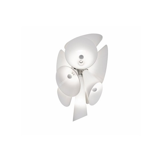 Nebula pendant lamp Flos white color