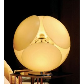 Bubble table lamp Foscarini yellow color