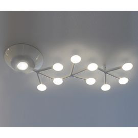 Net LED ceiling lamp linear