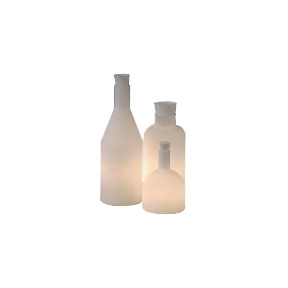 Bacco 123 table lamp Itre white color front view