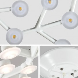 Net LED ceiling lamp detail