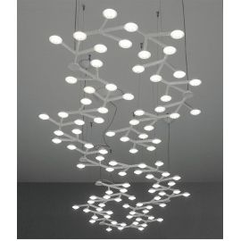 Net LED pendant lamp linear white color
