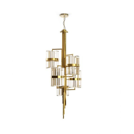 Liberty Chandelier Luxxu brass/nickel colo