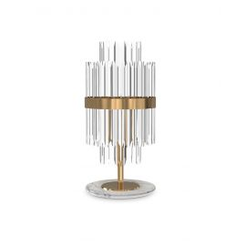 Liberty Table Lamp Luxxu brass/nickel color