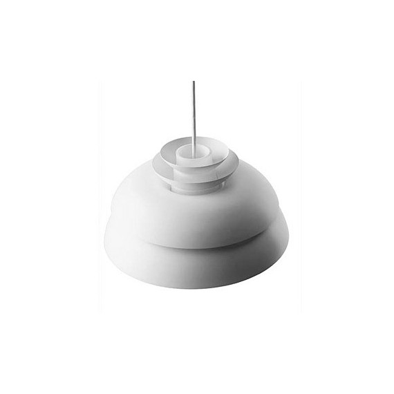 Concert pendant lamp Light years white color Diam 32cm