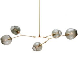 Lindsey Adelman Branching Bubble Design Chandelier 5 lights