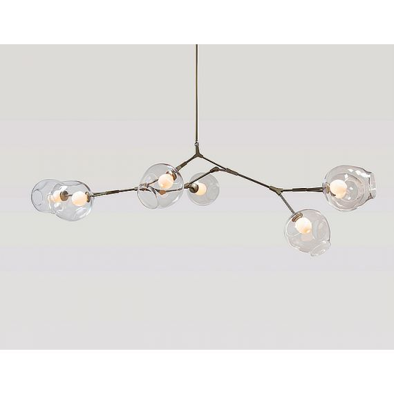 Branching Bubble Design Chandelier