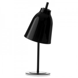 Caravaggio table lamp Light years black color front view