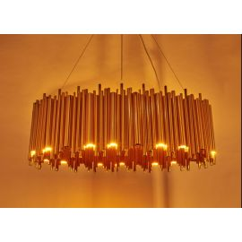 BRUBECK Round Pendant Light Chandelier