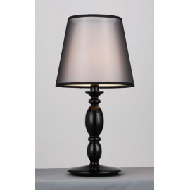 Clasica table lamp Modiss black color S side view