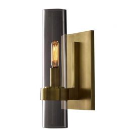 RH RAVELLE GRAND SCONE WALL LAMP brass color