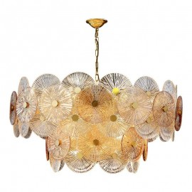 Lily Pad Glass Chandelier 2...