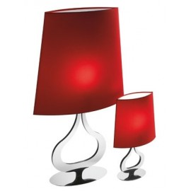 Slight table lamp Axo red color front view