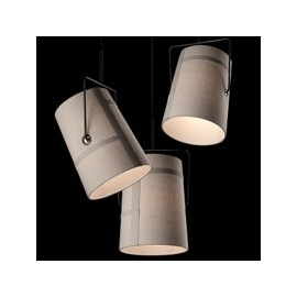 Fork pendant lamp Foscarini grey color Diam 18cm / Diam 37cm